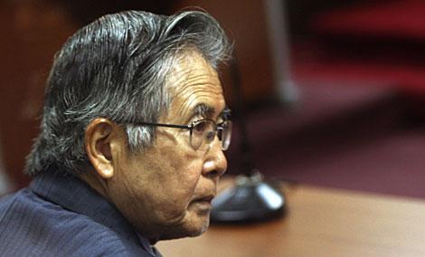Alberto Fujimori, este miércoles en Lima. | Reuters