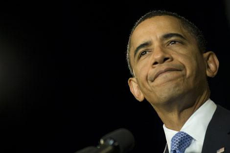 El presidente de Estados Unidos, Barack Obama, durante un acto en Maryland. | AFP
