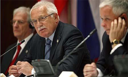 El presidente de la República Checa, Vaclav Klaus. | Reuters