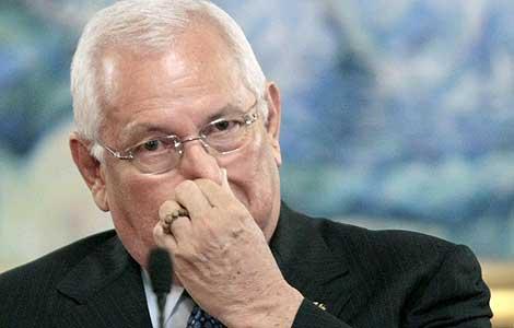 El presidente de facto de Honduras, Roberto Micheletti.   Reuters