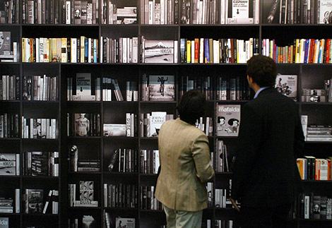 Imagen de la pasada edición de la Feria Liber. | Foto: Antonio Moreno