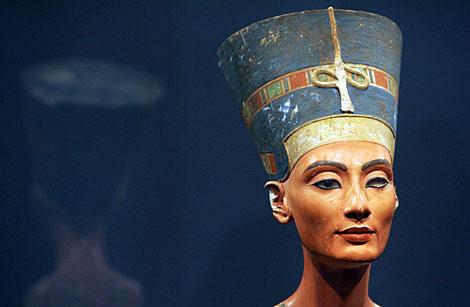 El busto de Nefertiti, en una imagen de 2005. | AFP