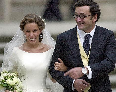 Alejandro Agag y Ana Aznar, el día de su boda, donde Correa fue testigo. | Efe