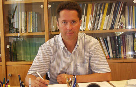Juan Ignacio Cirac, en su despacho. | Fundación BBVA