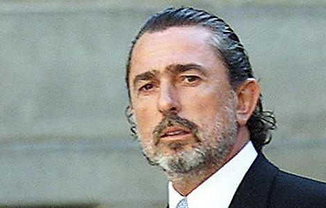 Francisco Correa, líder de la trama de corrupción, en la boda de Alejandro Agag.