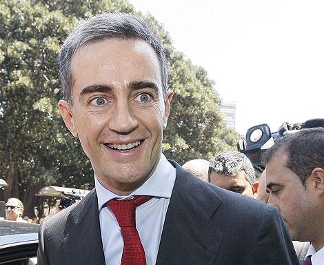 Ricardo Costa a su llegada al TSJ para declarar como imputado en 'Gürtel' | Benito Pajares.