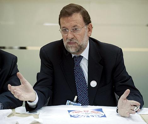 El líder 'popular', Mariano Rajoy.   Efe