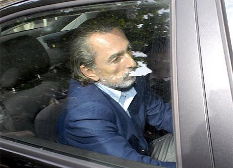 Francisco Correa, 'Don Vito', a su llegada al Tribunal de Justicia de Madrid. | A. Pedreira