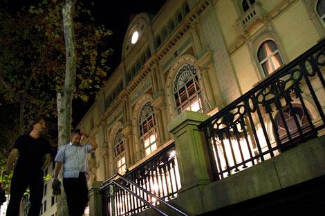 La fachada del Gran Teatre del Liceu. | Quique García