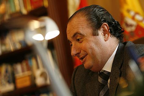 El presidente provincial del PP, José Joaquín Ripoll.   Ernesto Caparrós
