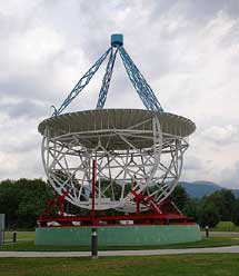 Réplica del radiotelescopio de Reber. | NRAO.