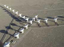 El interferómeno VLA en Nuevo México. | NRAO.