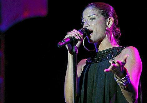 Natalia Jiménez, la voz de 'La Quinta Estación'. | Carlos Díaz