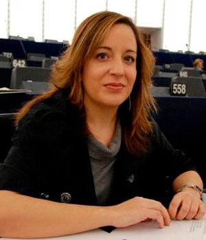 La eurodiputada Iratxe García Pérez.