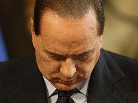El primer ministro italiano, Silvio Berlusconi, en Roma. | Reuters