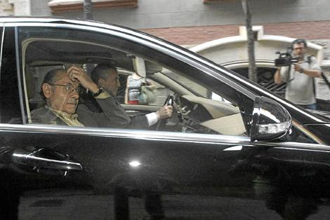 Fèlix Millet, poco después del registro judicial del Palau en julio | Q. García