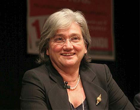 Rosy Bindi, diputada del Partido Demócrata (PD).