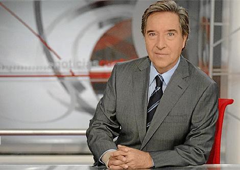 El presentador de los informativos nocturnos de Cuatro, Iñaki Gabilondo.