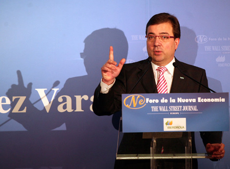Guillermo Fernández Vara, presidente de Extremadura.   Kike Para
