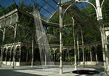 Maqueta digital del Palacio de Cristal.