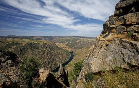 Vista del parque natural de los Arribes del Duero. | Cardinalia