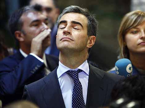 Ricardo Costa, durante los actos del Día de la Comunidad Valenciana. | Vicent Bosch