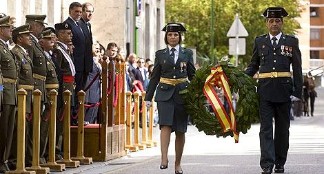 Actos de la Patrona de la Guardia Civil en Burgos. | Efe