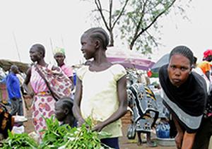 Mujeres en África.  Foto: Ashraf Shazly