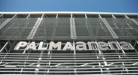 Fachada del velódromo Palma Arena. | Alberto Vera