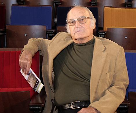 Gil Parrondo, durante la entrevista.