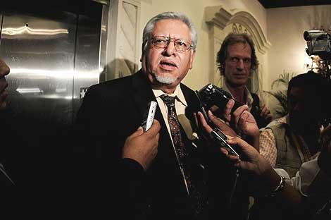 Víctor Meza, ministro de Gobernación del presidente depuesto de Honduras, Manuel Zelaya. | Efe