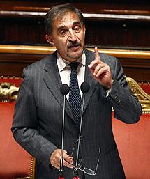 El ministro de Defensa italiano. | AP