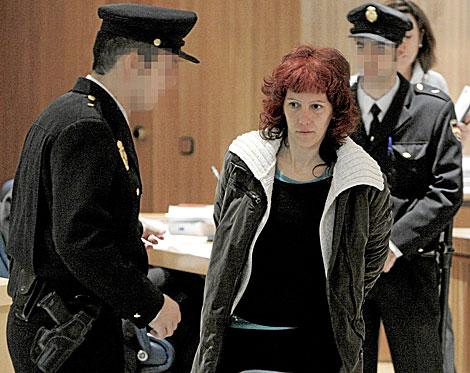 Ainhoa Múgica, durante un juicio en la Audiencia Nacional. | Pool