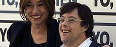 Lola Dueñas y Pablo Pineda. | Reuters