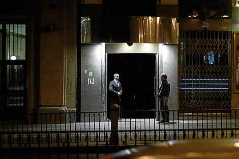 La puerta de la sala Adraba cuando abrió el 14 de noviembre de 2007. | Julián Jaén