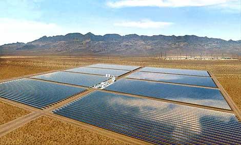 Central solar de Acciona en Nevada. | EL MUNDO