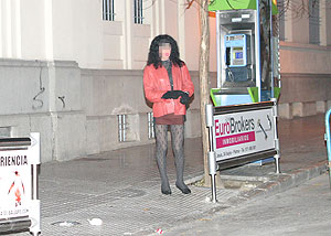 Un travesti en Avenidas   El Mundo