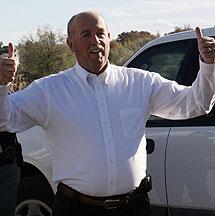 El sheriff Alderden.| Reuters