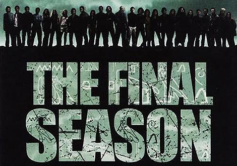 Cartel de la última temporada, que se estrena en enero.
