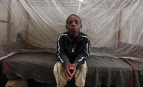 El niño nigeriano Jerry, acusado de estar 'embrujado'. | AP