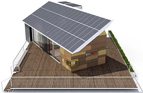 Casa solar 2007, el proyecto que presentó la Universidad Politécnica en la anterior edición.
