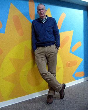 Bill McKibben, impulsor de 350.org. | C.F.