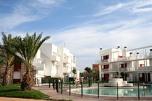 Urbanización Puerta de Oriente en Almeria.