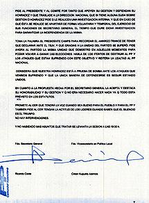 Elacta del Comité Ejecutivo Regional del PP de Valencia.