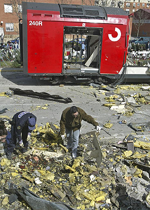 Atentado Terrorista 11-M. Foto: J.Jaén.