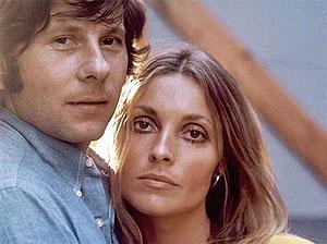 Con su segunda esposa, Sharon Tate, que fue asesinada en 1968. | Afp