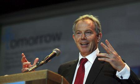 El ex primer ministro británico, Tony Blair.   AP
