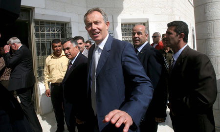 El ex primer ministro británico, Tony Blair, es el único candidato oficial. | Efe