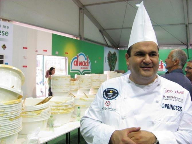 Chef de la Escuela de Catering Al Kafaat.  Mónica G. Prieto