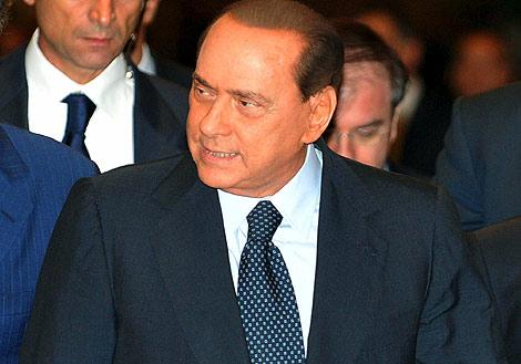 Berlusconi, en una imagen tomada el 7 de octubre en Roma. | Efe